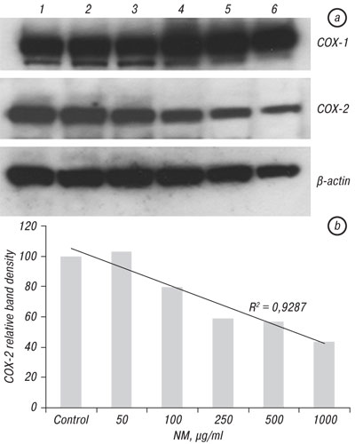 71 Inhibition of growth and expression of inflammation mediators in human leukemic cell line U 937 by a nutrient mixture