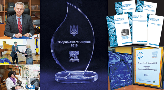 "435661 ""Experimental Оncology"" is the Best Scientific Journal in Ukraine according to SCOPUS!"