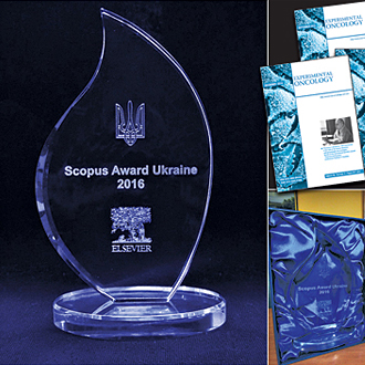"""Experimental Оncology"" is the Best Scientific Journal in Ukraine according to SCOPUS!"